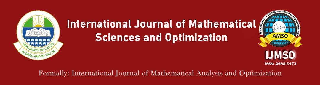 International Journal of Mathematical Sciences and Optimization