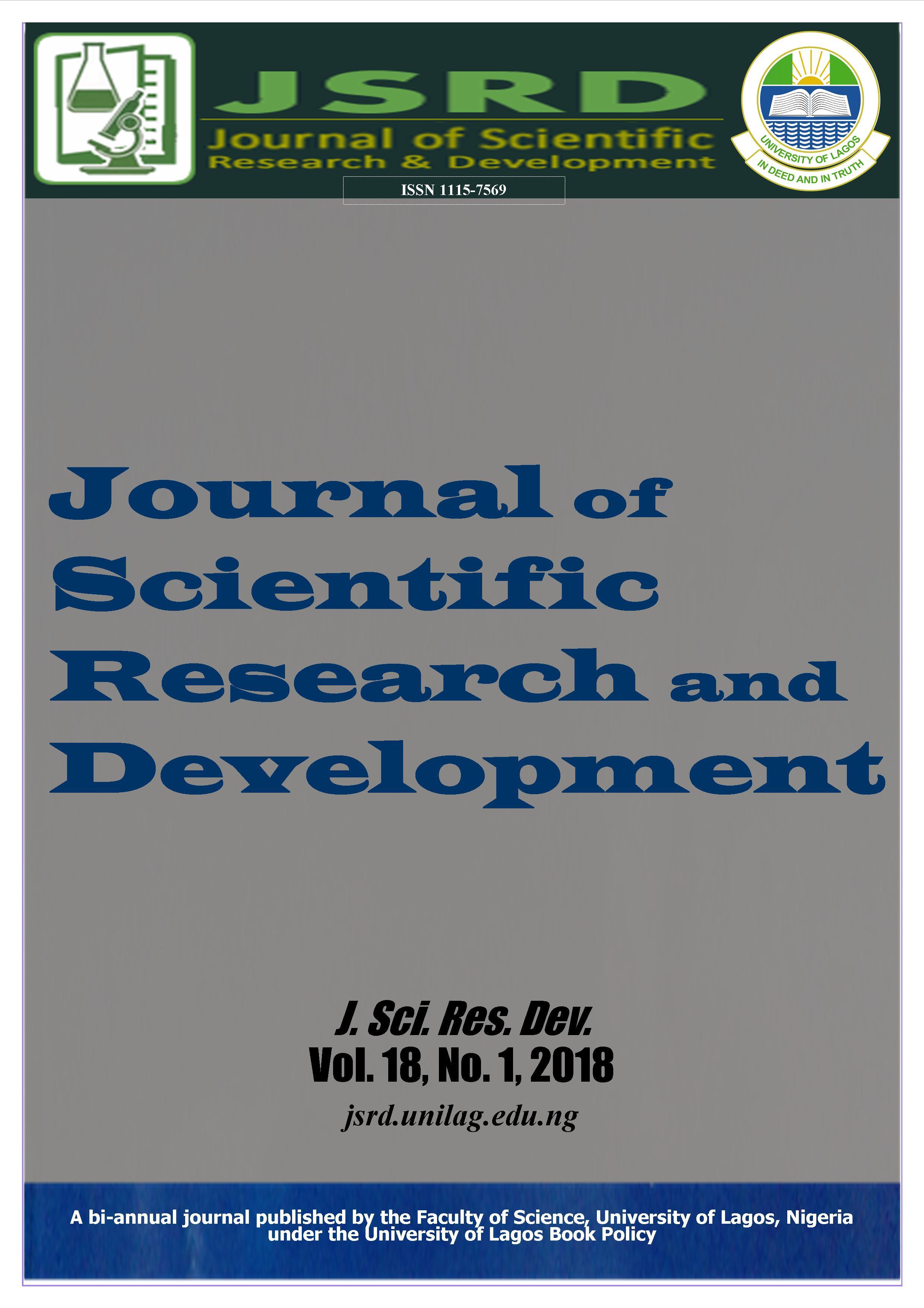 J. Sci. Res. Dev. Vol. 18, No. 1 (2018)